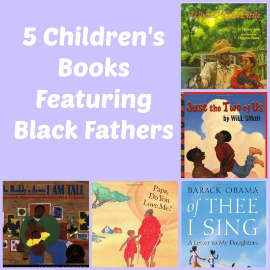 Exciting for our students to see characters in books that look like them.  Children's books that feature African-American fathers