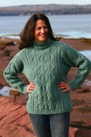 Fundy Fisherman Sweater Kit – Cottage Craft