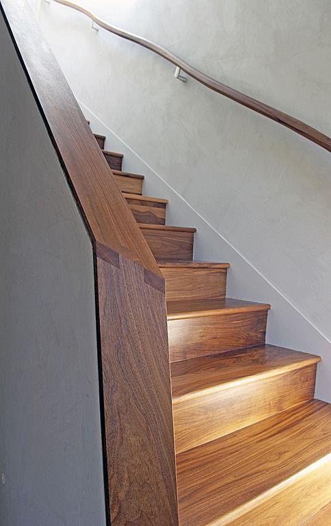 Contemporary Staircase rail detail - on Zillow Digs.