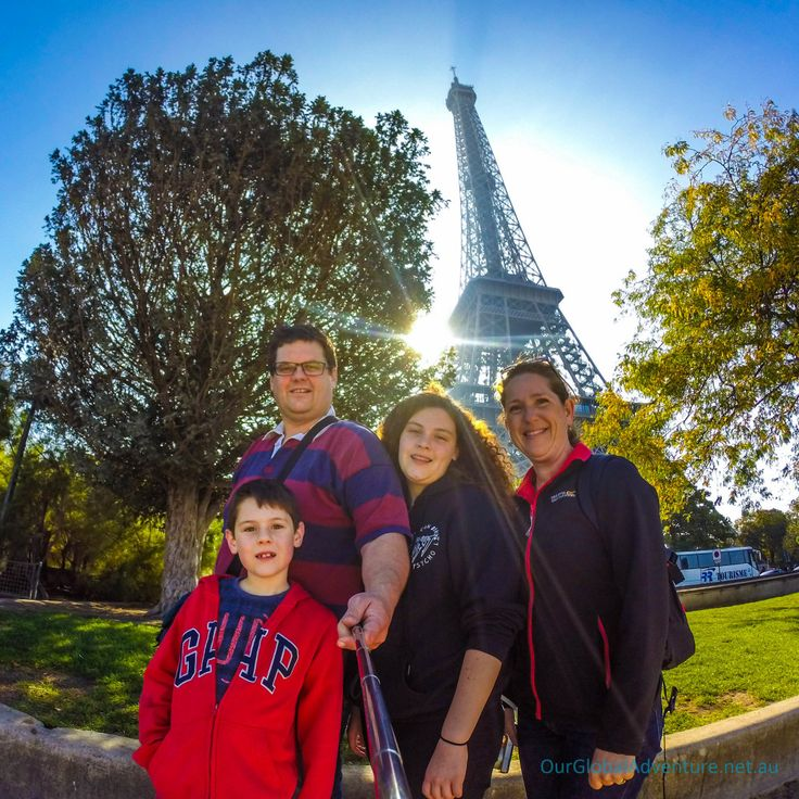 Our Children's First Visit to Paris.