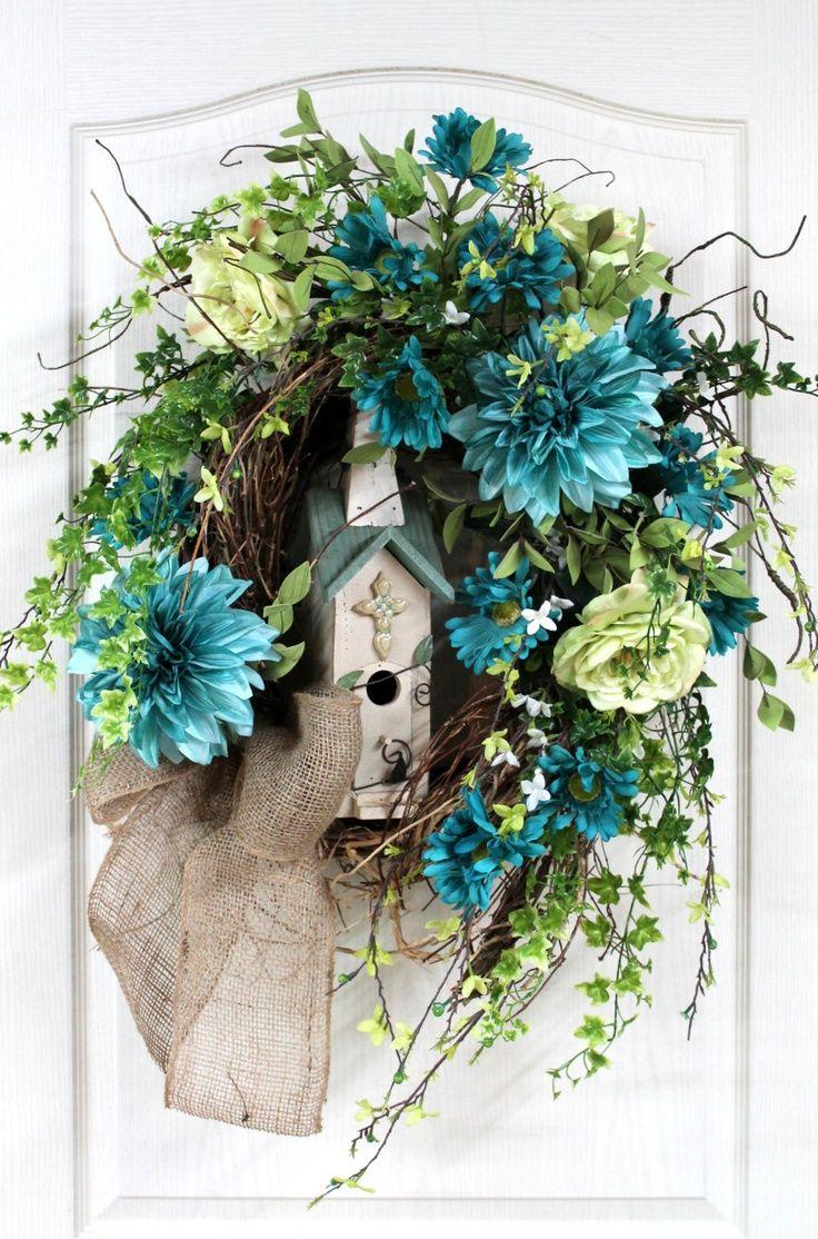spring wreaths for front door front door wreath spring