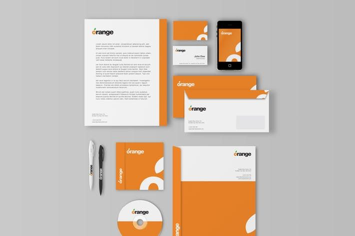 Corporate Identity Branding Mockups In 2020 Corporate Identity Branding Mockups Corporate Identity Mockup