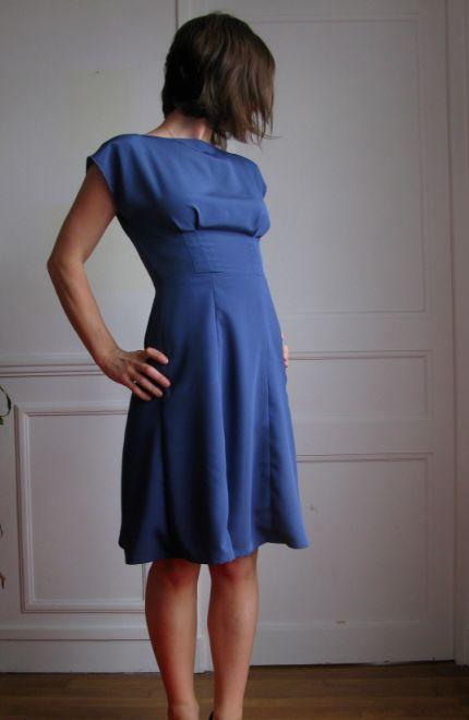 Blue Anna- By hand london