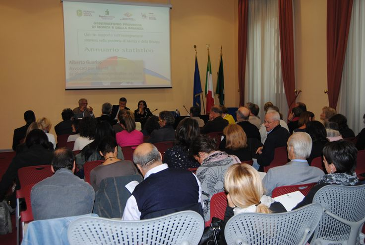 2 October 2013. Presentation of the fifth report on immigration in the province of #Monza and #Brianza