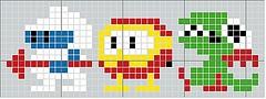 Video Game Cross Stitch Patterns: Art Cross Stitch, Video Game Cross Stitch, Craft, Dug Pattern, Video Games, Cross Stitch Patterns, Cross Stitches