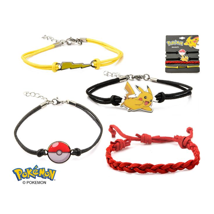 Pokemon Bracelet Set