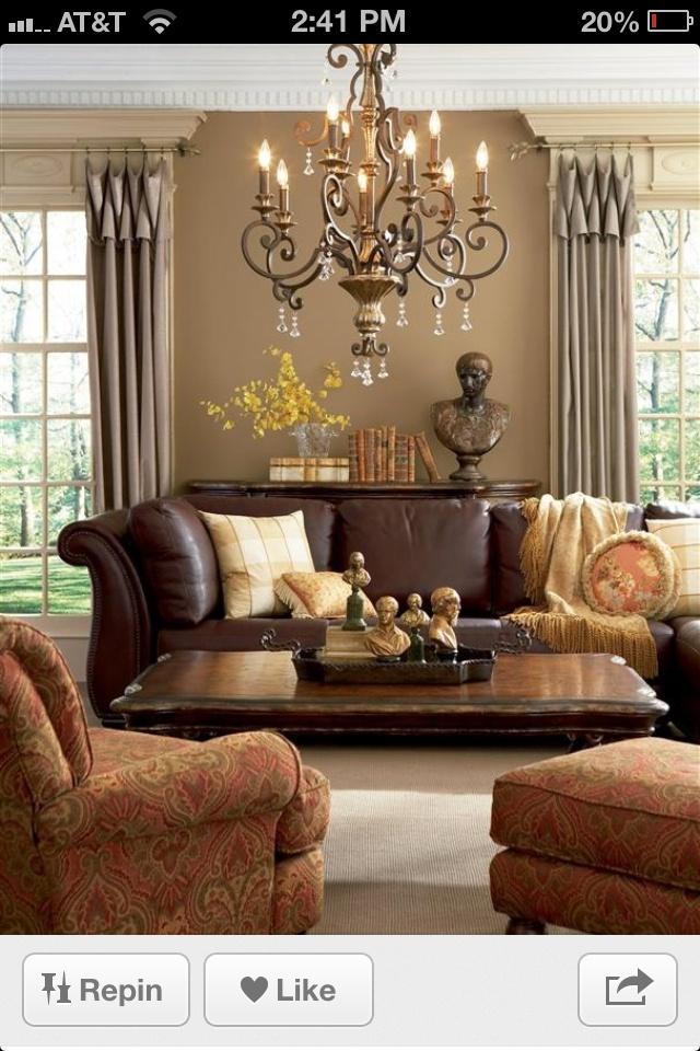 11 Best Living Room Images On Pinterest Brown Living