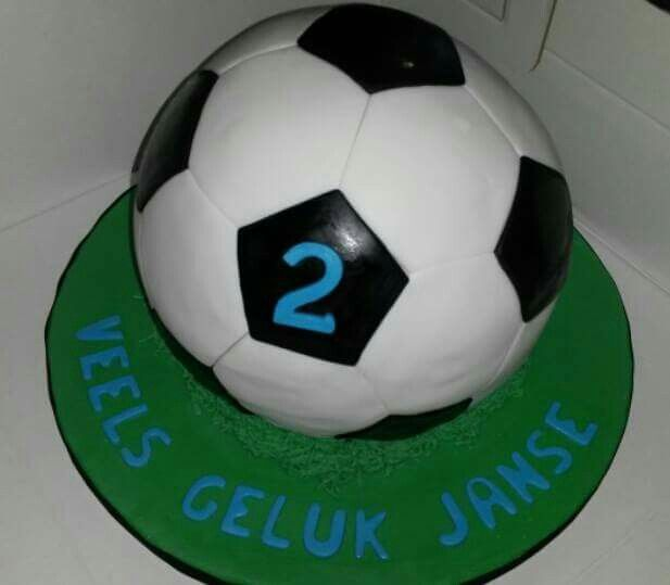 Football Cake, Cakes by Lizzie, Cape Town, South Africa