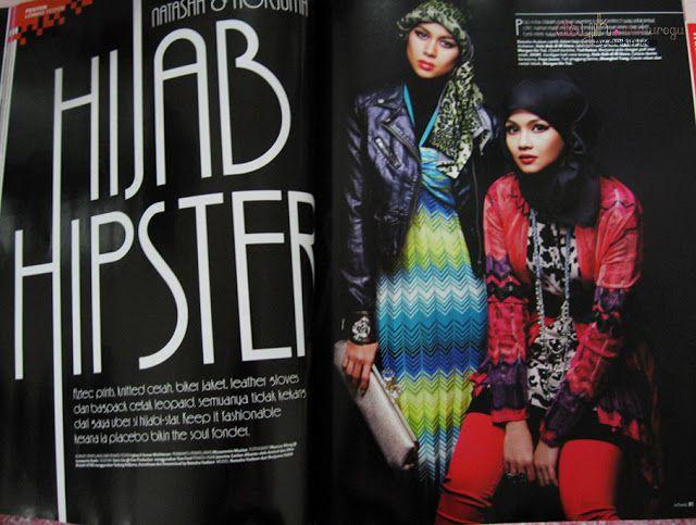 Asyik Izas : Asyik Maiburogu: Hijab Hipster