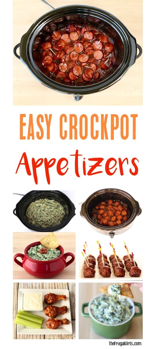Crockpot Appetizers for Party Time! Easy Dips and Holiday ...