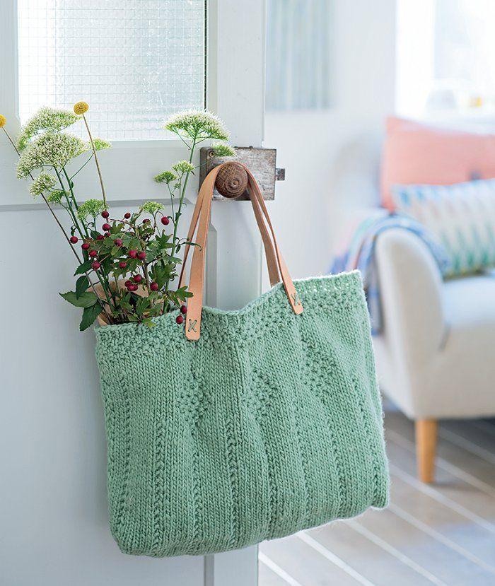 Un sac en tricot