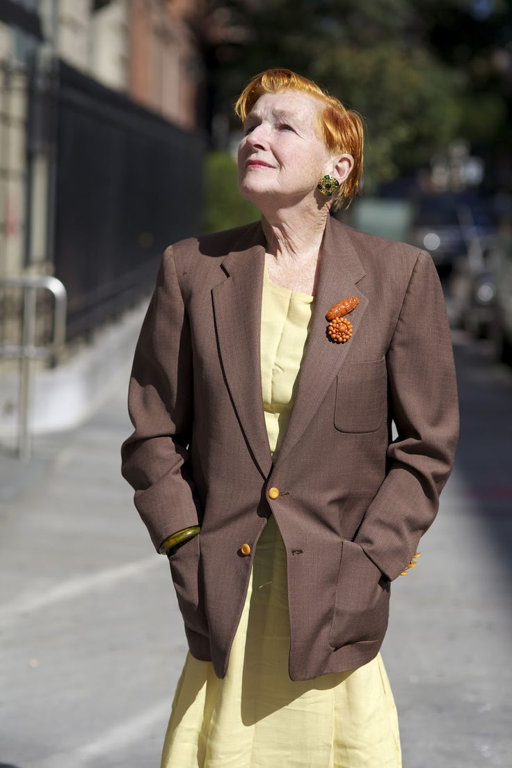 ADVANCED STYLE: Alice Carey Relfects on Her Mother's Vintage Dress