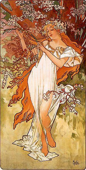 Saisons : le Printemps - 1896