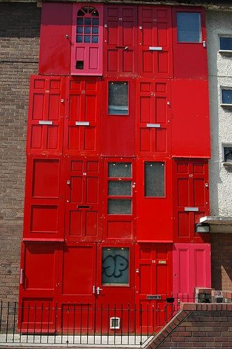 The red house at Great George Street, Liverpool
