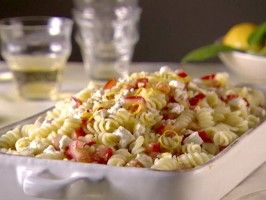 Rotini with Salsa di Limone - This was delicious. I added basil and some extra feta and omittted the salt.