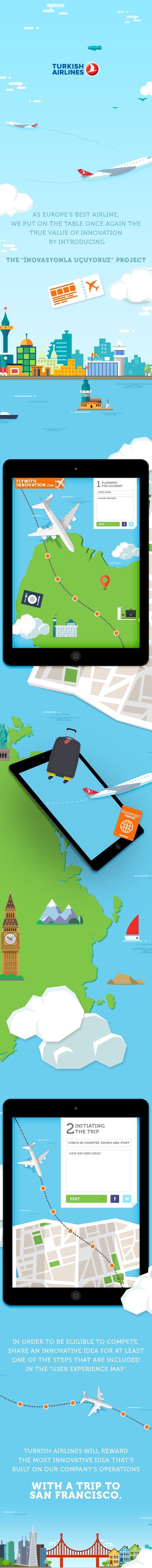Turkish Airlines - Fly with innovations on Behance