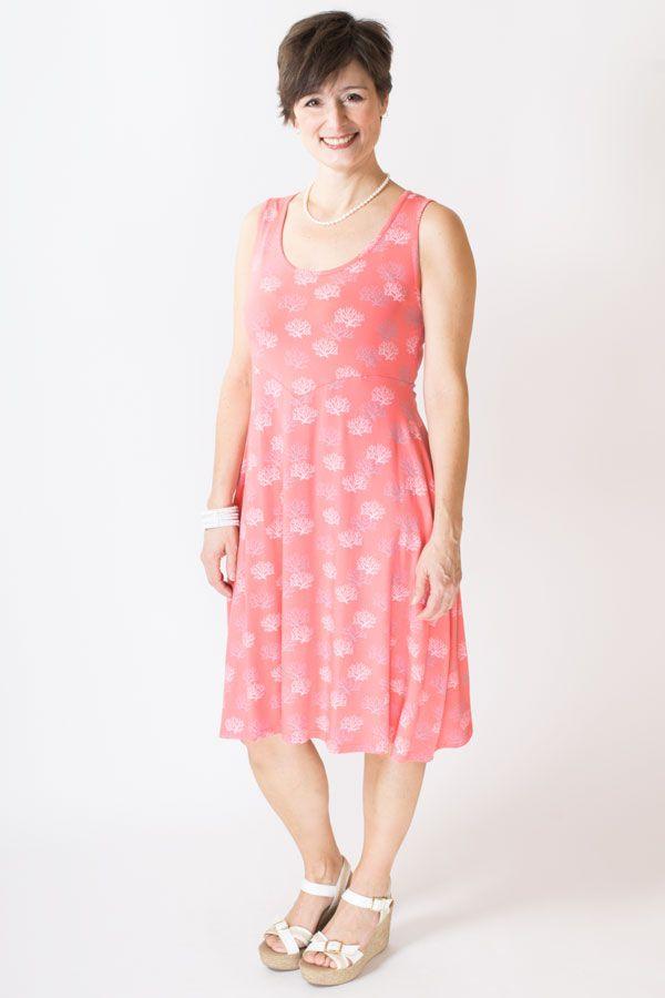 Isn't this coral pattern CUTE? 95% Bamboo - Fair Trade - XXS-4X Blue Sky Clothing Co