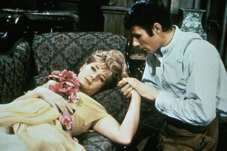 Angela Douglas and Jim Dale. Carry On Screaming. 1966