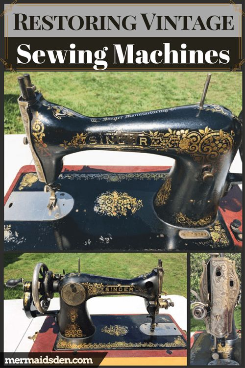 Resources for Restoring Vintage Sewing Machines