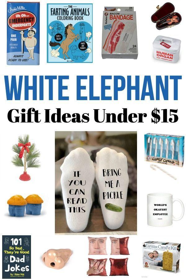 White Elephant Gift Ideas Under 15 White Elephant Gifts Elephant Gifts Best White Elephant Gifts