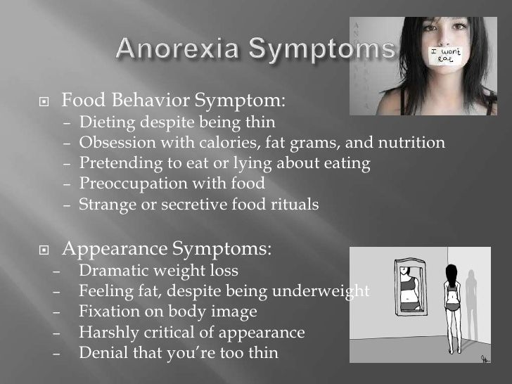anorexia nervosa detection and treatment Treatment of anorexia nervosa recovery from anorexia requires specialist help to treat both the psychological causes and its physical effects contacting your gp is the most important step to take, in order to.