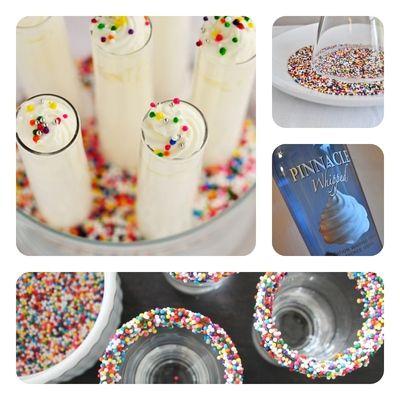 Happy Boozy Birthday Shots!   Revelry House    http://revelryhouse.tumblr.com/post/32266348959/happy-boozy-birthday-shots