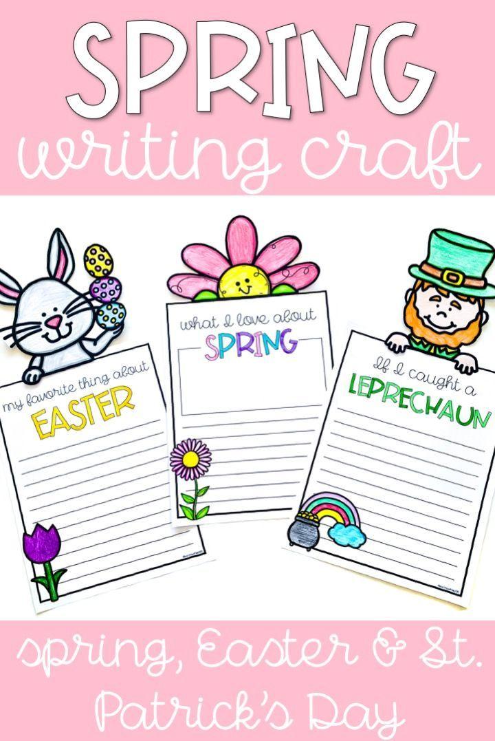 spring writing craftivity spring classroom writing writing rh pinterest com