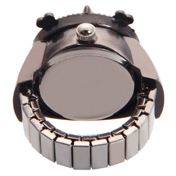 ONE PIECE(Monkey D Luffy)Alloy Quartz Ring Watch Bronze  #women #men #fashion #jewelry #watches