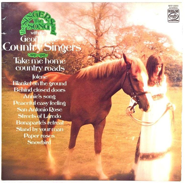 Geoff Love Country Singers - Take Me Home Country Roads