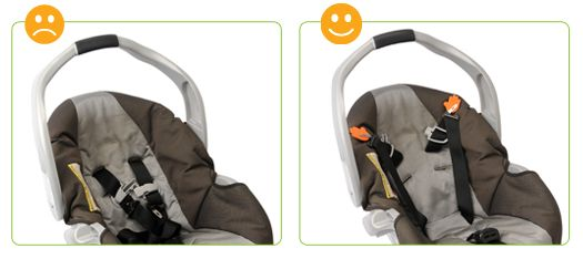 Lulaclips- Magnetic car seat clips- car seat accessory