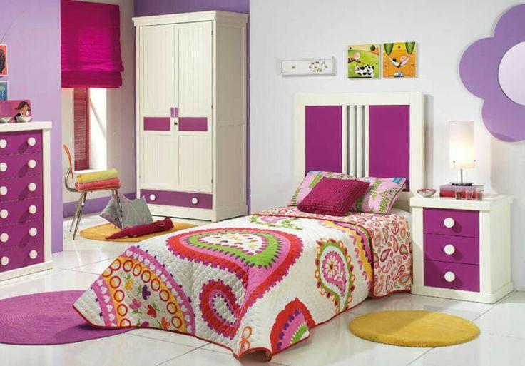 Dormitorio para ni as dormitorios para ni as pinterest for Dormitorios para 4 ninas
