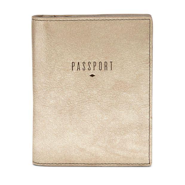 55€ - FOSSIL - Etui Passeport