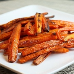 Diabetic Carrot French Fries recipe