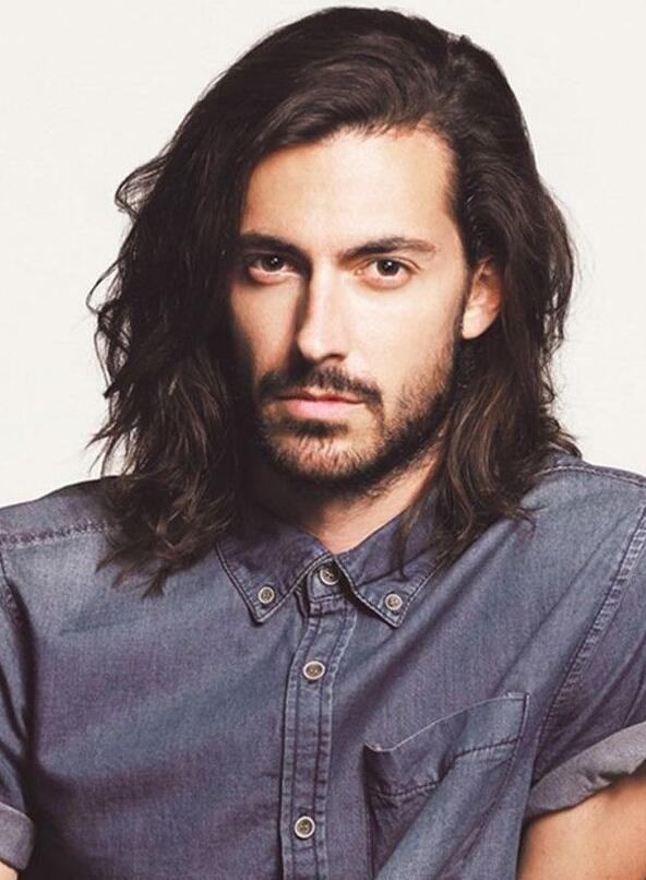 Men Shoulder Length Hair