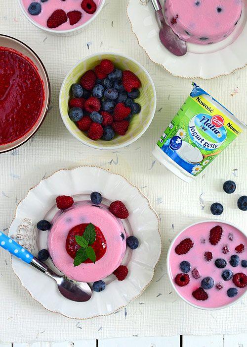 Jogurtowy deser owocowy - łatwy i zdrowy  - etap 8