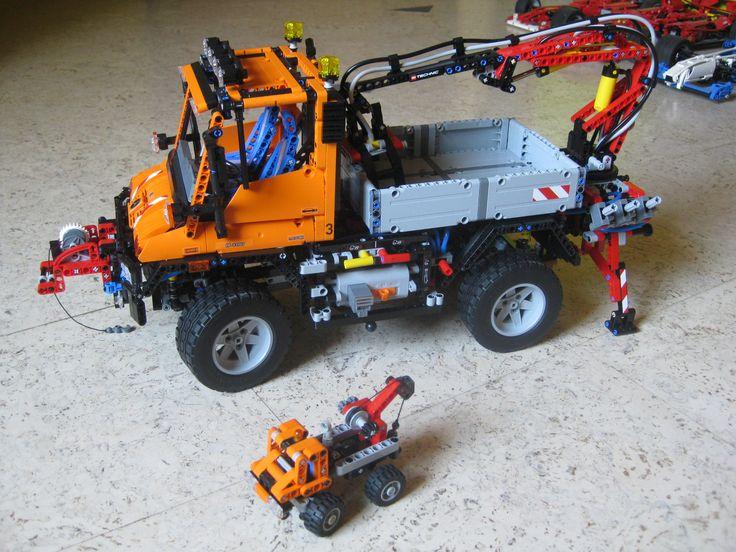 Lego Unimog+9390