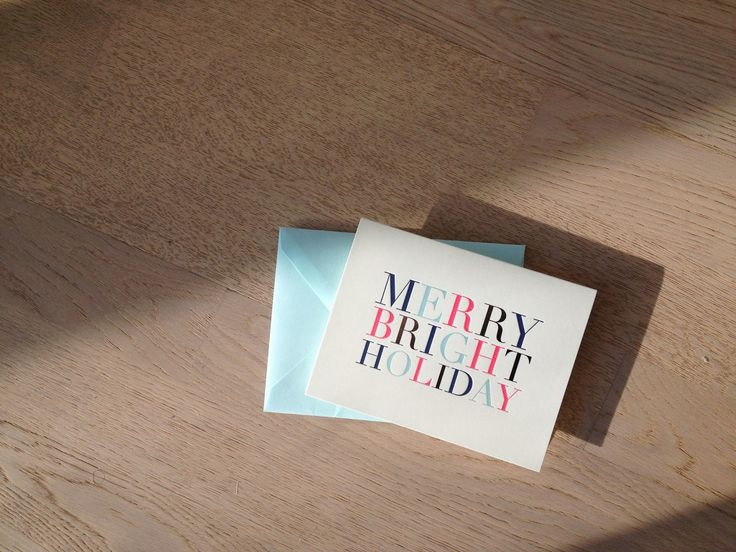 Weekly Mantra - Merry Bright Holiday