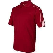 Wholesale Custom Mens ClimaLite 3-Stripes Cuff Polo Golf Shirt  best seller follow this link http://shopingayo.space