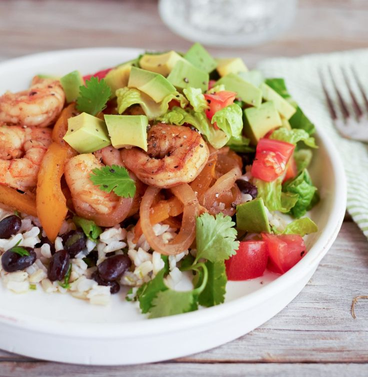 Skip the long line at Chipotle, and serve up a healthy seafood burrito bowl in the comfort of your own home.