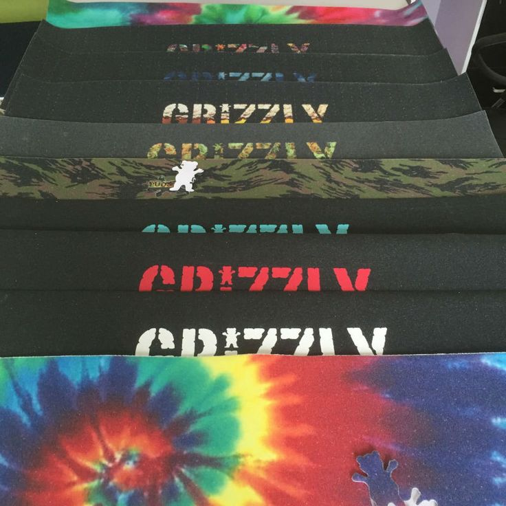 Smokehouse x Grizzly Grip Tape