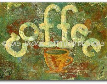 Café cadena arte café taza cadena arte taza de café arte de