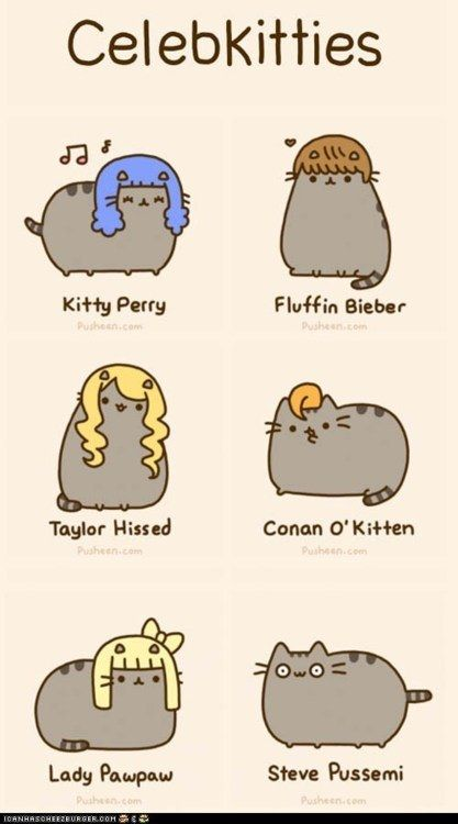 picture Pusheen.com  via http://animalicious.de/