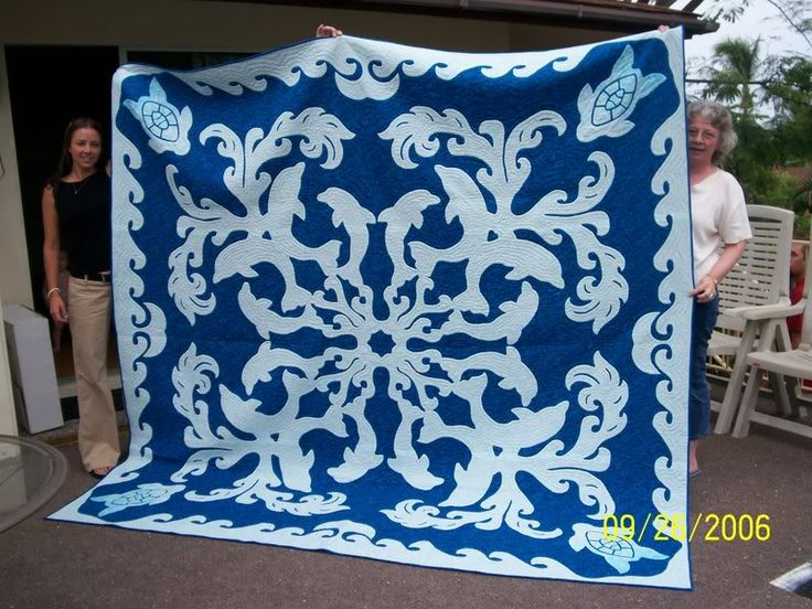 1000 Images About Hawaiian Quilts On Pinterest