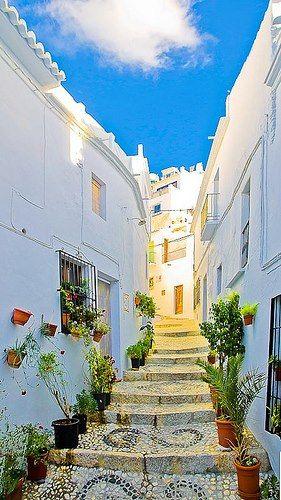 Steep Steeps in ~ Frigiliana, Spain