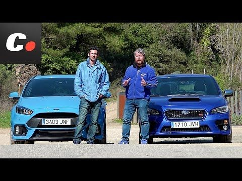 2016 Ford Focus Rs Vs 2015 Subaru Wrx Sti 2016 Volkswagen Golf R