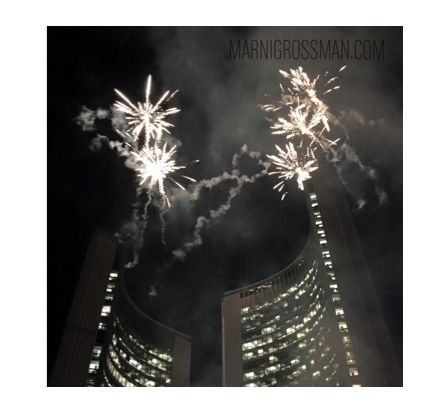 Nathan Phillips Square in Toronto PANAMANIA #marnigrossmanphotography #marnigrossman #marnigrossmanphotographer