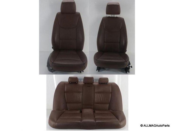 2006-2008 BMW 3 Series Sedan Terra Leather Non-Sport Seats 33 E90