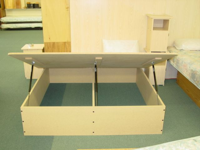 Storage Bed Lift Kit : Spacesaverswallbeds lift store storage bed kits wall
