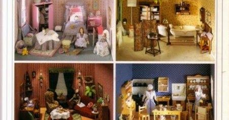 Free craft book download : Decorar Casas de Muñecas   This book will show you how to build a dollhouse miniatures, with clearly...