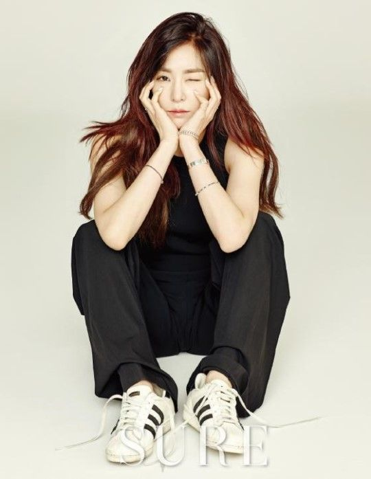SNSD Tiffany goes chic for 'SURE' magazine's January issue ~ Wonderful Generation